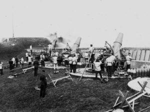 29 cm haubits at the Lynetten