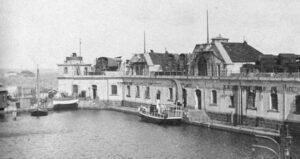 The Fortifications of Copenhagen. The Prövesten naval Fort 1900